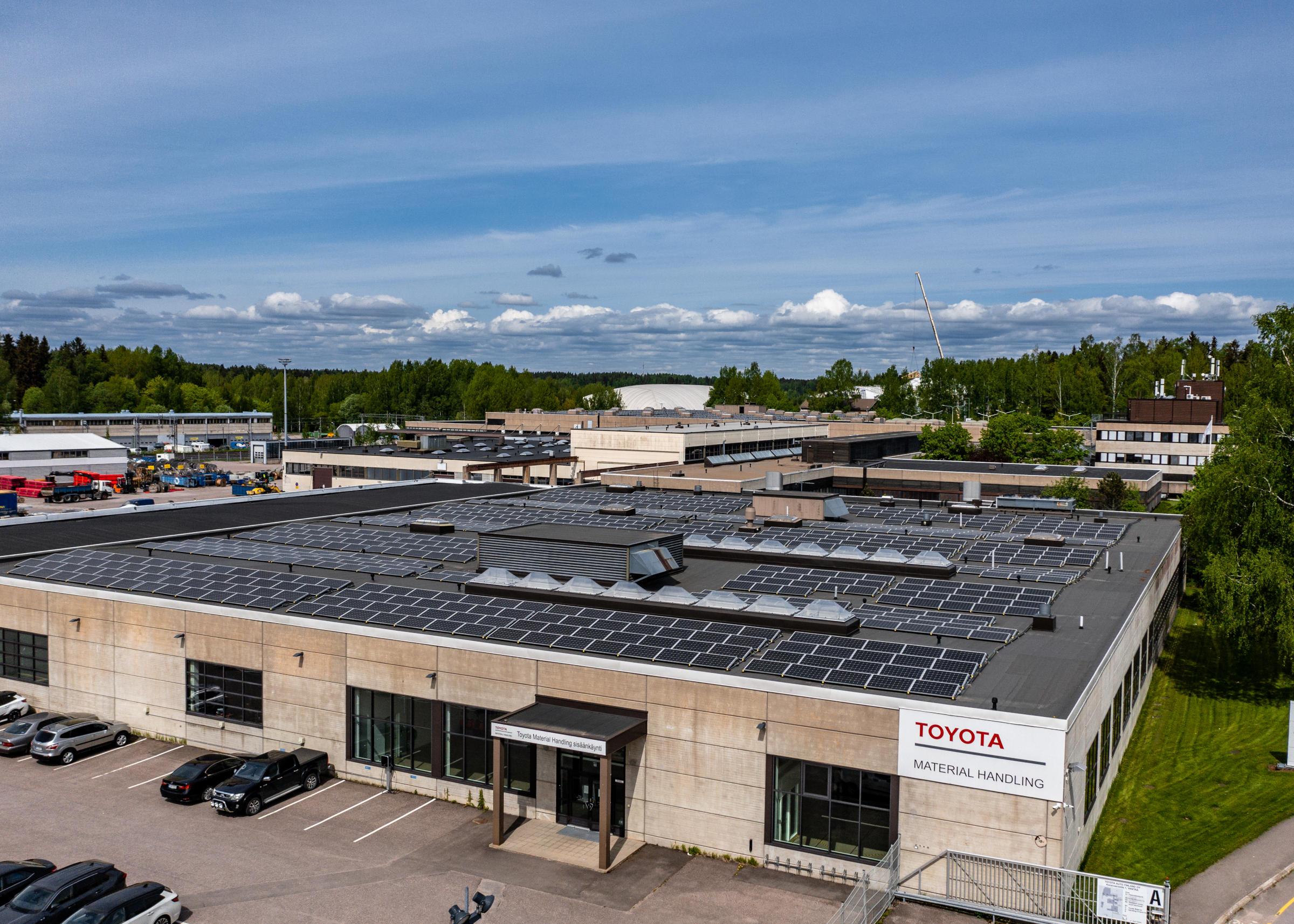 Toyota Auto Finland oy Korpivaarantie 1, Vantaa-3