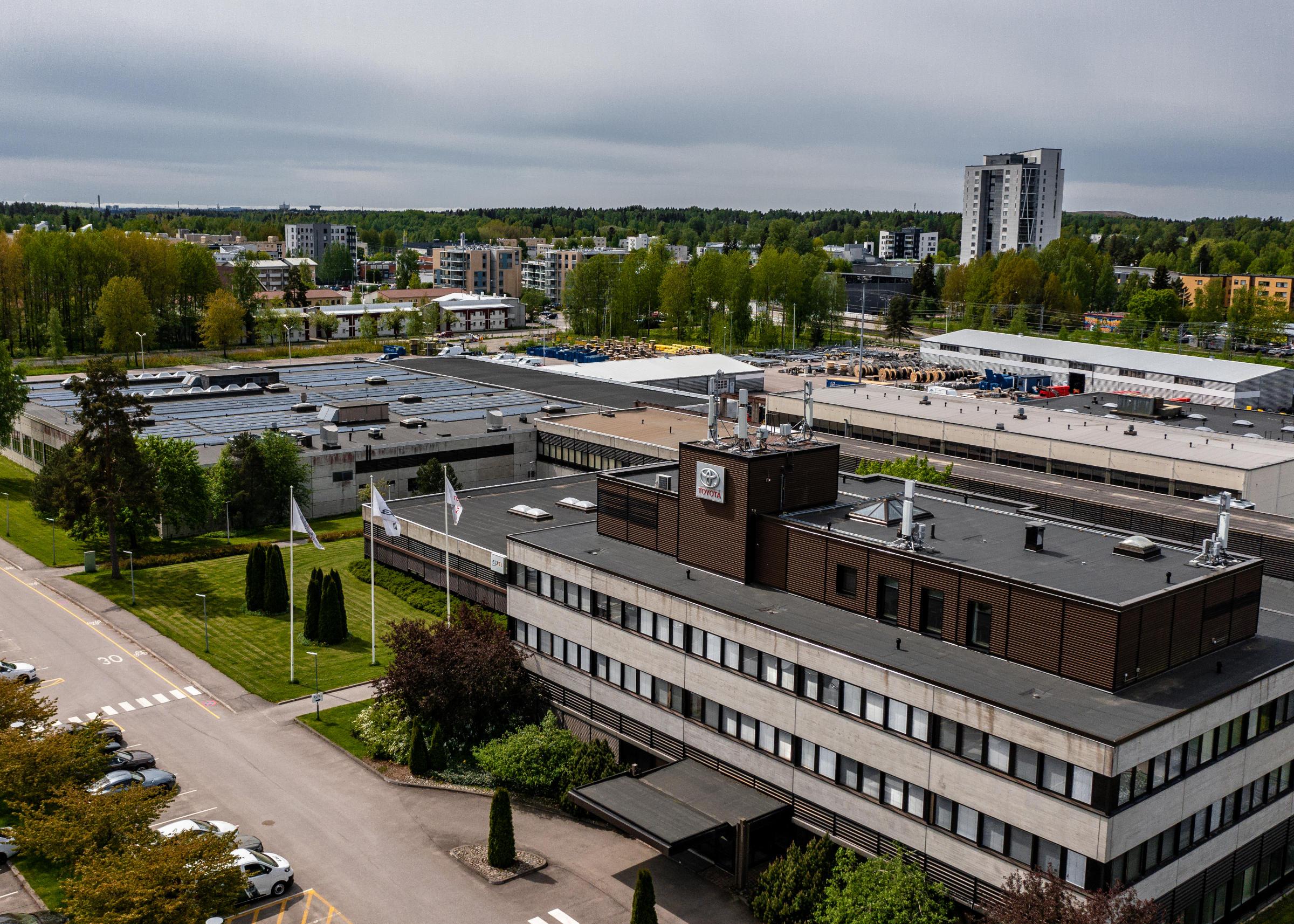 Toyota Auto Finland oy Korpivaarantie 1, Vantaa-7